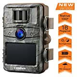 【2020 Upgrade】Campark Wildkamera 16MP 1080P No Glow Night Vision 940nm Überwachungskamera Jagdkamera Sicherheit Bewegungsaktivierte Kamera mit 2.4 'LCD und IP66 Wasserdich