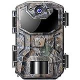 Victure Wildkamera 20MP mit Bewegungsmelder Nachtsicht 1080P Full HD Wildtierkamera mit Handy Überwachung IP66 Wasserdicht