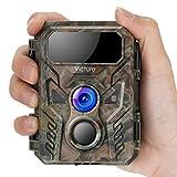 Victure Mini Wildkamera 16MP 1080P Fotofalle mit Bewegungsmelder Nachtsichtgerät IP66 wasserdichtem und unsichtbarer Blitzerkennungsfunktion für die Überwachung von Wildtieren und Sicherheit zu Hause