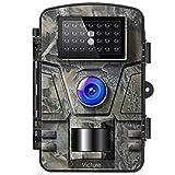 Victure Wildkamera 16MP 1080P Infrarot No Glow LEDs Bewegungsmelder Nachtsicht Jagdkamera, Wildtierkamera mit Nachtsichtbewegung Wasserdicht IP66 für Haussicherheits Überwachungskameras