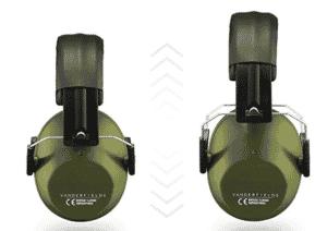 Vanderfields Lärmschutz Kopfhörer Größe einstellbar