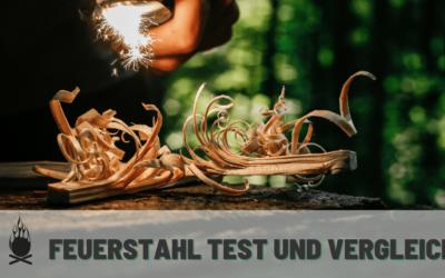Feuerstahl Test – Die 4 besten Feuerstarter 2021